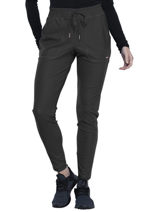 Cherokee Form Mid-Rise Tapered Leg Drawstring Pant (CK090-PWT) (CK090-PWT)