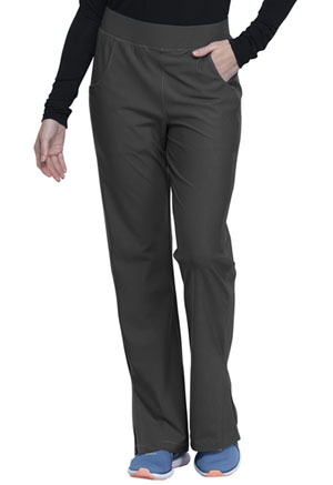 Cherokee Form Mid Rise Moderate Flare Leg Pull-on Pant (CK091-PWT) (CK091-PWT)