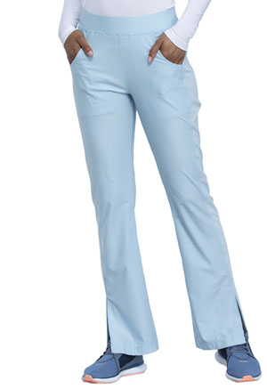 Cherokee Mid Rise Moderate Flare Leg Pull-on Pant Sky Blue (CK091-SUEB)