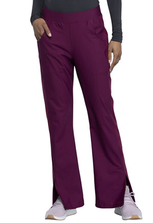Cherokee Form Mid Rise Moderate Flare Leg Pull-on Pant (CK091-WIN) (CK091-WIN)