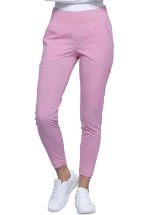 Cherokee Mid-Rise Tapered Leg Pull-on Pant Rose Blossom (CK175-RBSM)