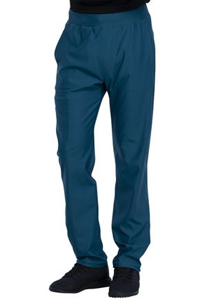 Cherokee Men's Tapered Leg Pull-on Pant Caribbean Blue (CK185-CAR)