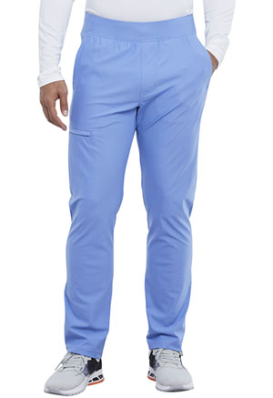 Cherokee Men's Tapered Leg Pull-on Pant Ciel Blue (CK185-CIE)