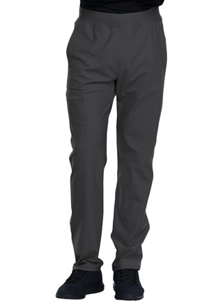 Cherokee Men's Tapered Leg Pull-on Pant Pewter (CK185-PWT)