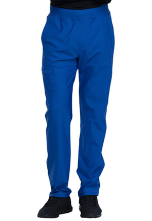 Cherokee Men's Tapered Leg Pull-on Pant Royal (CK185-ROY)
