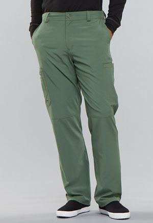 Cherokee Men's Fly Front Pant Olive (CK200A-OLPS)