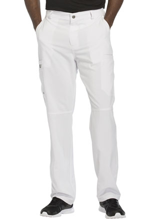 Cherokee Men's Fly Front Pant White (CK200A-WTPS)