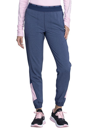 Cherokee Mid Rise Jogger Heather Navy (CK225A-HTNA)