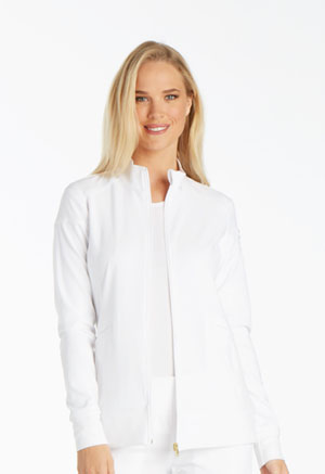 iFlex Zip Front Warm-Up Jacket (CK303-WHT) (CK303-WHT)