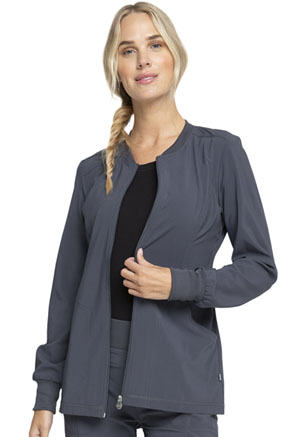 Infinity Zip Front Jacket (CK370A-PWPS) (CK370A-PWPS)
