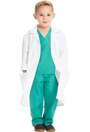 Cherokee Kids' Lab Coat White (CK430-WHT)