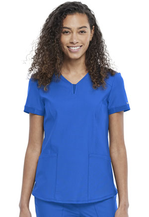 Cherokee V-Neck Top Royal (CK723-ROY)