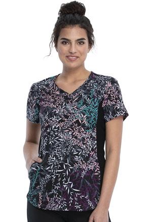 Cherokee V-Neck Top Just Be-leaf (CK732-JUSB)
