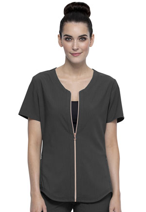 Statement Zip Front Top (CK875-PWT) (CK875-PWT)