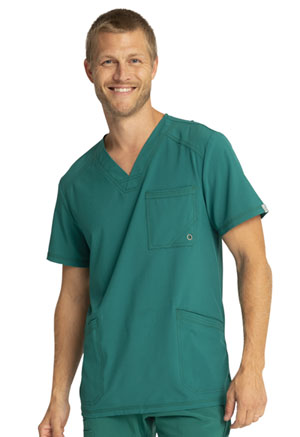 Cherokee Men's V-Neck Top Hunter Green (CK900A-HNPS)