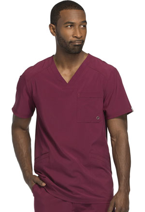 Cherokee Men's V-Neck Top Wine (CK900A-WNPS)