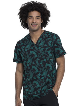 Cherokee Men's V-Neck Top Awesome Angles (CK902-AWAN)