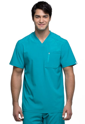 Cherokee Men's V-Neck Top Teal Blue (CK910A-TLPS)