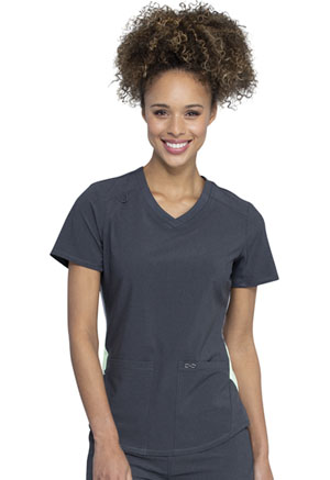 Cherokee V-Neck Top Heather Charcoal (CK925A-HTCH)
