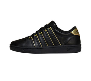 K-Swiss CMFIICOURTPRO Black/Gold (CMFIICOURTPRO-BKGD)