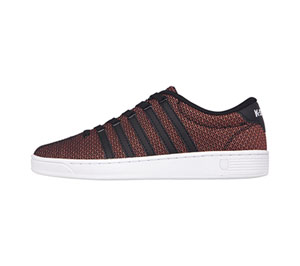 K-Swiss CMFIICOURTPRO Black, Multi Print, White (CMFIICOURTPRO-BMPW)
