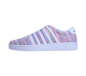 K-Swiss CMFIICOURTPRO Multi, White (CMFIICOURTPRO-MUWH)