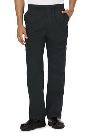 Dickies Chef Men's 5 Pocket Cargo Pant in Black (DC10-BLK)