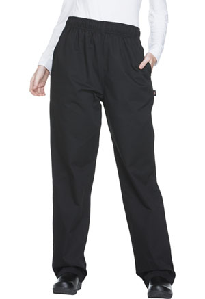 Dickies Chef Unisex Traditional Baggy 3 Pocket Pant in Black (DC11-BLK)
