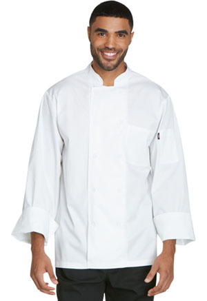 Dickies Chef Unsiex Cool Breeze Chef Coat in White (DC410-WHT)