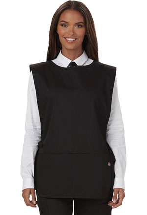 Dickies Chef Cobble Bib Apron with Tie Sides Black (DC50-BLK)