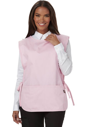 Dickies Chef Cobble Bib Apron with Tie Sides in Pink (DC50-PINK)
