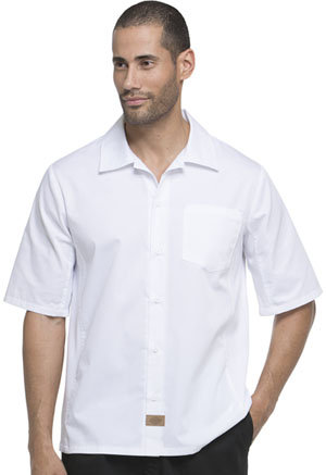 Dickies Chef Unisex Cool Breeze Shirt in White (DC61-WHT)