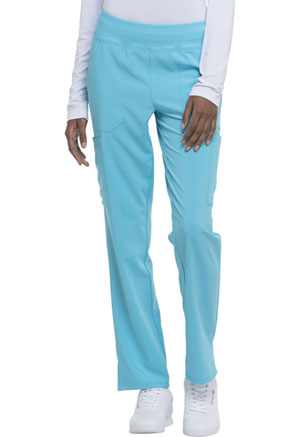 Natural Rise Tapered Leg Pull-On Pant (DK005P-TRQ)