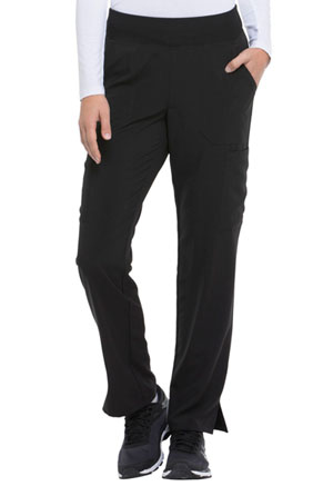 Dickies EDS Essentials Natural Rise Tapered Leg Pull-On Pant in Black (DK005-BAPS)