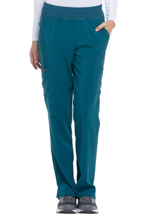 Dickies EDS Essentials Natural Rise Tapered Leg Pull-On Pant in Caribbean Blue (DK005-CAPS)