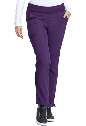 Dickies EDS Essentials Natural Rise Tapered Leg Pull-On Pant in Eggplant (DK005-EGG)