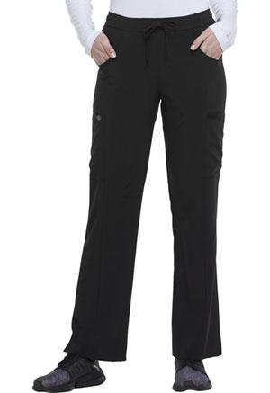 Mid Rise Straight Leg Drawstring Pant (DK010P-BAPS)
