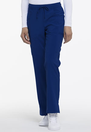 Mid Rise Straight Leg Drawstring Pant (DK010P-GAB)