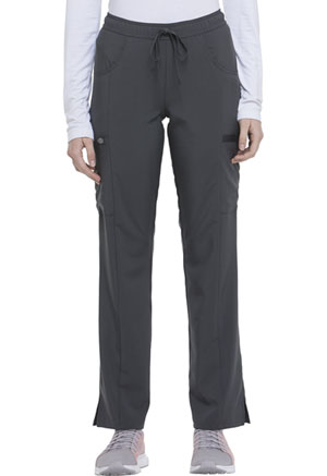 Mid Rise Straight Leg Drawstring Pant (DK010P-PWPS)