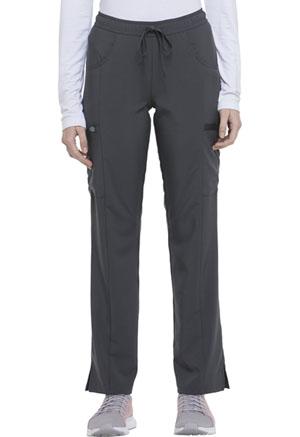 Mid Rise Straight Leg Drawstring Pant (DK010T-PWPS)