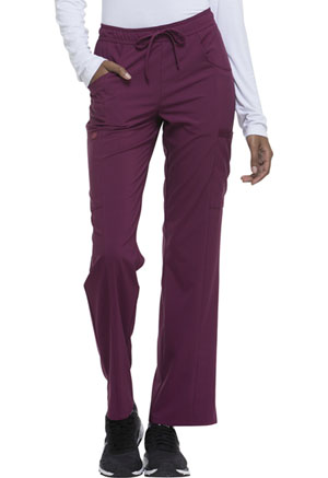 Mid Rise Straight Leg Drawstring Pant (DK010T-WNPS)