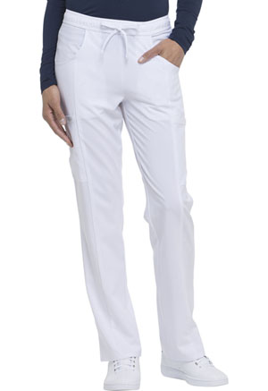 Mid Rise Straight Leg Drawstring Pant (DK010T-WTPS)