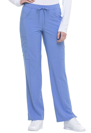 Dickies EDS Essentials Mid Rise Straight Leg Drawstring Pant in Ciel (DK010-CIPS)