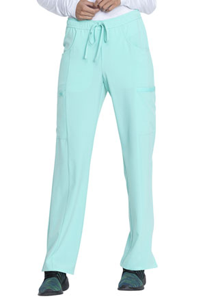 Dickies EDS Essentials Mid Rise Straight Leg Drawstring Pant in Mint Chip (DK010-MTCH)
