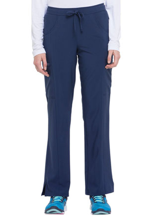 Dickies EDS Essentials Mid Rise Straight Leg Drawstring Pant in Navy (DK010-NYPS)
