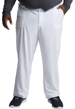 Dickies EDS Essentials Men's Natural Rise Drawstring Pant in White (DK015-WTPS)