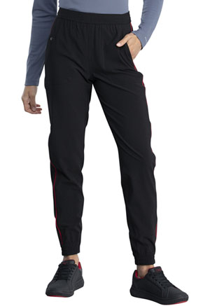 Dickies Retro Mid Rise Jogger in Black / Red (DK050-BLRD)