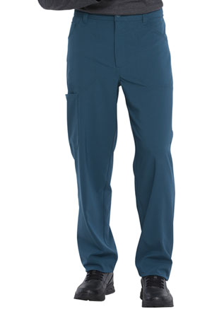 Dickies Retro Men's Natural Rise Straight Leg Pant in Caribbean Blue (DK055-CAR)