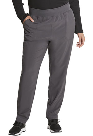 Dickies EDS Essentials Mid Rise Tapered Leg Pull-on Pant in Pewter (DK090-PWPS)