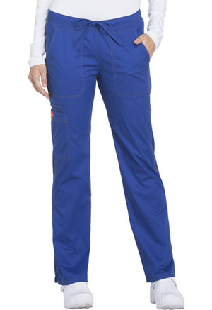Dickies Gen Flex Low Rise Straight Leg Drawstring Pant in Galaxy Blue (DK100T-GBLZ)
